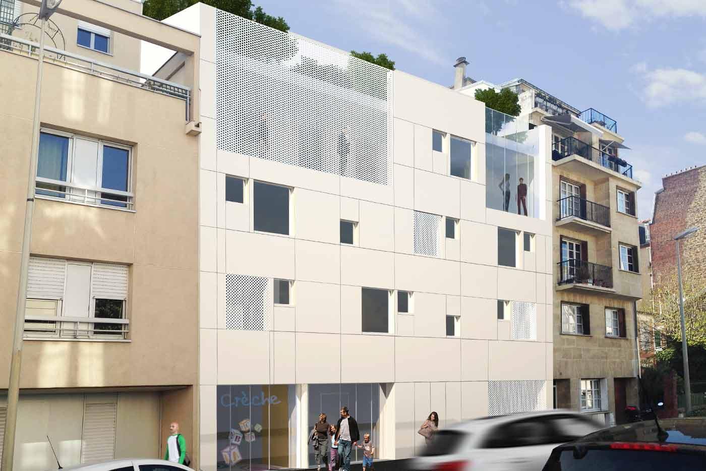 la ruche bureaux bear architectes agence architecture jeremy biermann. Black Bedroom Furniture Sets. Home Design Ideas