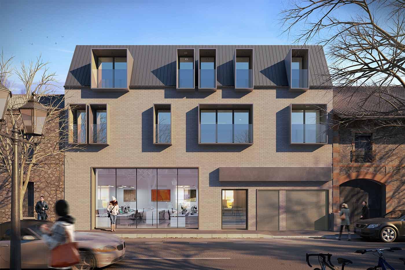 promotion immobli re pasteur paris bear architectes jeremy biermann architecte dplg. Black Bedroom Furniture Sets. Home Design Ideas